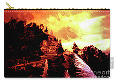 Carry-all Pouch featuring the photograph Magnificent Church Of Biblian IIi by Al Bourassa