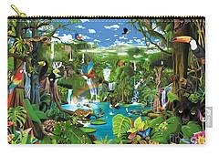 Magnificent Rainforest Carry-all Pouch