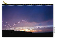 Magnificent Sunset Lightning Carry-all Pouch