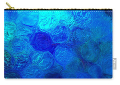 Magnified Blue Water Drops-abstract Carry-all Pouch