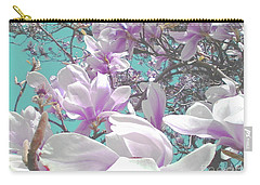 Carry-all Pouch featuring the photograph Magnolia Charm by Rebecca Harman