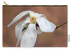 Carry-all Pouch featuring the photograph Magnolia Grace by Nikolyn McDonald
