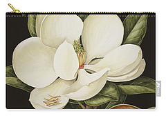 Magnolia Grandiflora Carry-all Pouch by Jenny Barron