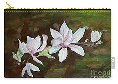 Magnolia - Painting  Carry-all Pouch by Veronica Rickard