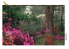 Carry-all Pouch featuring the photograph Magnolia Plantation - Fs000148a by Daniel Dempster
