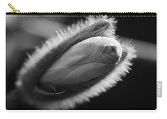Carry-all Pouch featuring the photograph Magnolia Stellata Bud by Keith Elliott