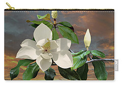 Magnolia Sunset Carry-all Pouch