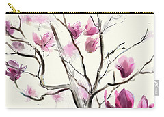 Magnolias In Bloom Carry-all Pouch