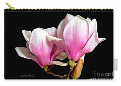 Magnolias In Spring Bloom Carry-all Pouch by Jeannie Rhode