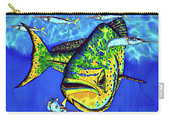 Mahi Mahi And Ballyhoo Carry-all Pouch