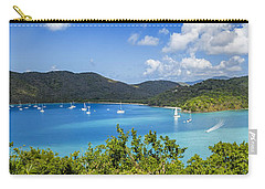Carry-all Pouch featuring the photograph Maho And Francis Bays On St. John, Usvi by Adam Romanowicz