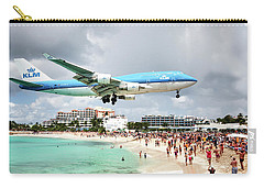 Maho Beach Caribbean Island Of St Maarten Carry-all Pouch