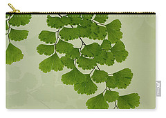Maiden Hair Fern With Shadows Carry-all Pouch