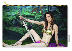 Maiden Of The Mystic Wood Carry-all Pouch