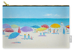 Main Beach East Hampton  Carry-all Pouch