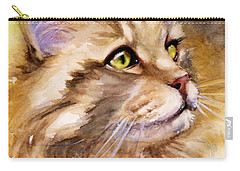 Main Coon Carry-all Pouch by Judith Levins