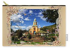 Main Plaza At Paccha, Ecuador IIi Carry-all Pouch by Al Bourassa