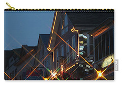 Main Street Bar Harbor 2 Carry-all Pouch by Living Color Photography Lorraine Lynch