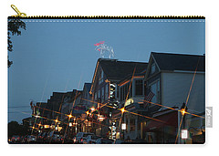 Main Street In Bar Harbor Maine Carry-all Pouch by Living Color Photography Lorraine Lynch