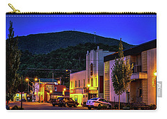 Main Street Lights Carry-all Pouch by Dale R Carlson