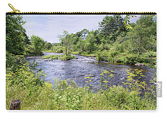 Carry-all Pouch featuring the photograph Maine Beauty by John M Bailey