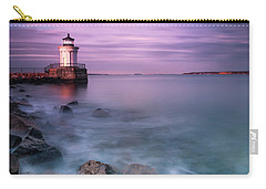 Maine Bug Light Lighthouse Sunset Carry-all Pouch