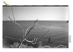 Carry-all Pouch featuring the photograph Maine Coastline by Corinne Rhode