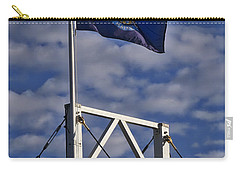 Maine Flag -perkins Cove Bridge Carry-all Pouch