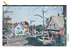 Maine Landscape Art Carry-all Pouch by Robert Joyner