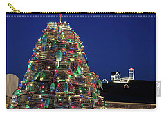 Maine Lobsta Trap Nubble Christmas Carry-all Pouch