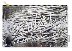 Maine Logging -  C 1903 Carry-all Pouch
