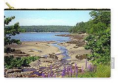 Maine Lupines Carry-all Pouch