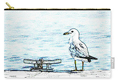Maine Seagull Carry-all Pouch