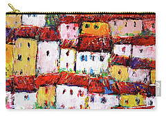 Maisons De Ville Carry-all Pouch