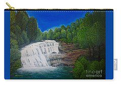 Majestic Bald River Falls Of Appalachia II Carry-all Pouch by Kimberlee Baxter