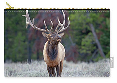 Majestic Bull Elk Carry-all Pouch by Jack Bell