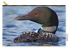 Majestic Common Loon Carry-all Pouch