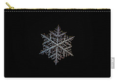 Majestic Crystal, Black Version Carry-all Pouch by Alexey Kljatov