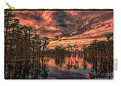 Majestic Cypress Paradise Sunset Carry-all Pouch