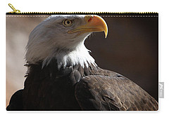 Majestic Eagle Carry-all Pouch by Marie Leslie