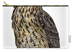 Majestic Eurasian Northern Eagle Owl Bubo Bubo - Hibou Grand-duc - Buho Real - Nationalpark Eifel Carry-all Pouch
