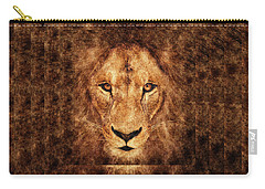 Majestic Lion Carry-all Pouch by Anton Kalinichev