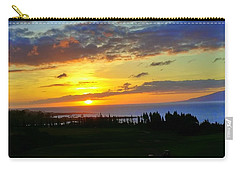 Majestic Maui Sunset Carry-all Pouch