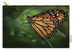 Majestic Monarch Carry-all Pouch by Marie Leslie