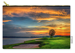 Carry-all Pouch featuring the photograph Majestic Number 4 The Landing Reynolds Plantation Art by Reid Callaway