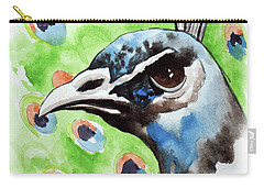 Majestic - Peacock Bird Art Carry-all Pouch
