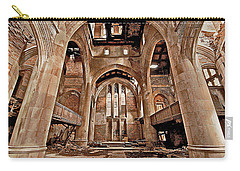 Carry-all Pouch featuring the photograph Majestic Ruins by Suzanne Stout