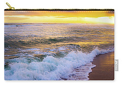 Carry-all Pouch featuring the photograph Majestic Sunset In Paradise by Shelby Young