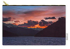 Majestic Sunset In Summit Cove Carry-all Pouch