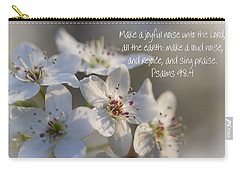 Make A Joyful Noise Unto The Lord Carry-all Pouch